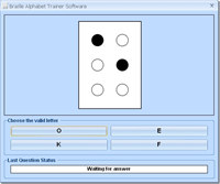 Braille Alphabet Trainer Software