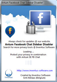 Free Facebook Chat Sidebar Disabler