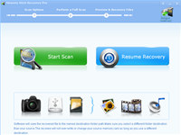 Memory Stick Recovery Pro screenshot medium