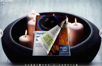 Candle Light Style Theme for 3D Book