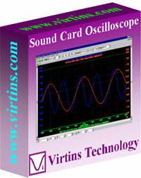 Virtins Sound Card Oscilloscope screenshot medium
