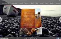 Boat Style Theme for 3D Book
