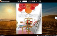 Page Flip Book Desert Style screenshot medium