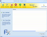 MS Word 2010 Recovery screenshot medium