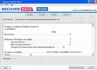 MS Word Repair Software