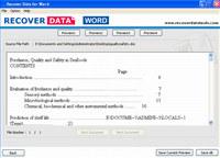MS Word Repair Software