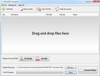 EPubsoft EPUB to PDF Converter screenshot medium