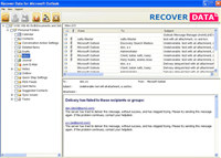 PST Repair Software 2013 screenshot medium
