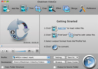 iDealshare VideoGo for Mac screenshot medium