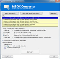 MBOX Import to Outlook PST Format