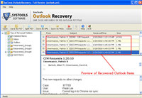 PST Recovery and Split tool