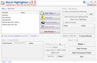 Batch Word Highlighter