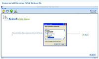 Repair MySQL Software