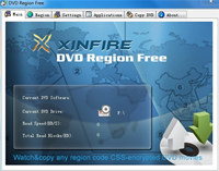 Xinfire DVD Region Free