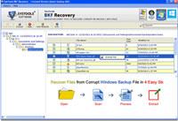Repair BKF File Windows 10 screenshot medium