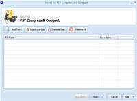 Compress Large Sized PST File