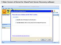 SharePoint Data Recovery