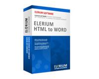 Elerium HTML to Word .NET