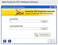 Unlock PDF Files Software