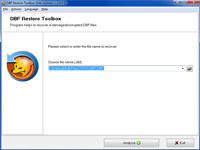 DBF Restore Toolbox