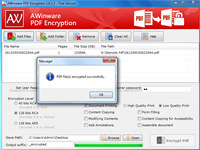PDF Data Encryption Software