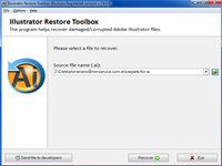 Illustrator Restore Toolbox