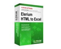Elerium HTML to Excel .NET