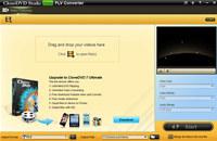 CloneDVD Studio Free FLV Converter