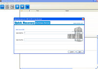 Instant MS Exchange Server Recovery Tool screenshot medium