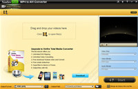 Xinfire Free MP4 to AVI Converter screenshot medium