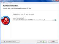 PDF Restore Toolbox