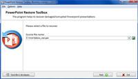 PowerPoint Restore Toolbox