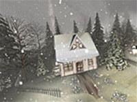 Snowy Winter 3D Screensaver