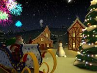 Xmas Holiday 3D Screensaver