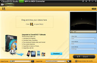 CloneDVD Studio Free MP4 to MOV Converter