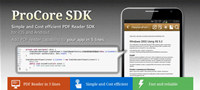 ProCore PDF Reader SDK for iOS and Android