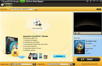 CloneDVD Studio Free DVD to iPad Ripper