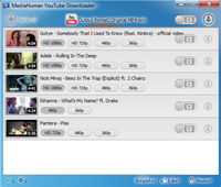 MediaHuman YouTube Downloader screenshot medium