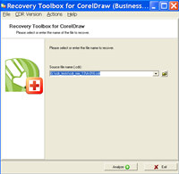 Recovery Toolbox for CorelDRAW