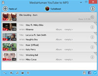 MediaHuman YouTube to MP3 Converter screenshot medium