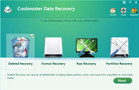 Coolmuster Data Recovery screenshot medium
