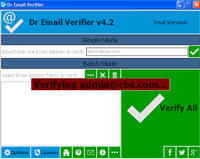 Dr Email Verifier  screenshot medium