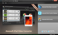 Aiseesoft iPad Converte Suite Ultimate screenshot medium