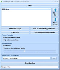 Join Multiple BMP Files Into One Software