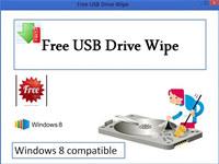 Free USB Drive Wipe