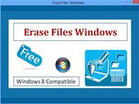 Erase Files Windows