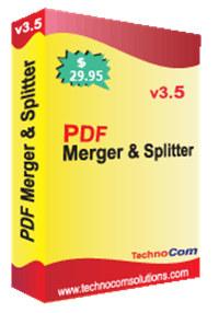 PDF Merger and Splitter