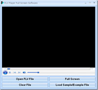 FLV Player Full Screen Software