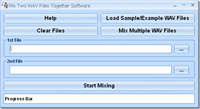 Mix Two WAV Files Together Software