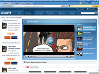 Leawo Free YouTube Downloader screenshot medium